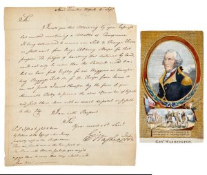 Items signed by Washington, Lincoln, JFK and Jackie, Einstein, others are in One of a Kind Collectibles auction Sept. 10
