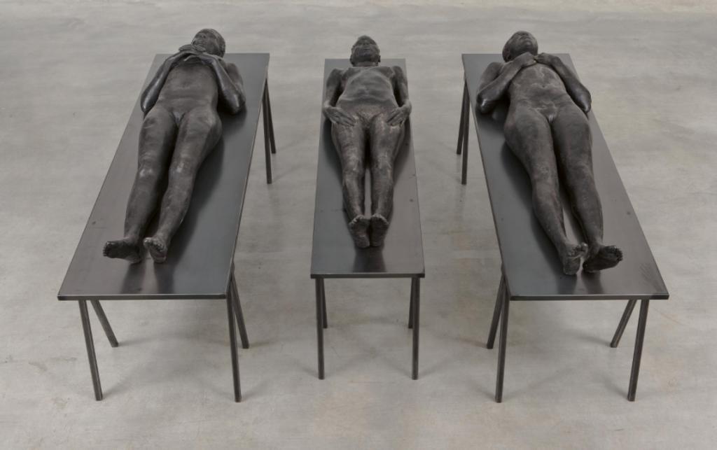 Vanessa Beecroft, untitled sculpture from Performance VB64. Image from Van Ham.