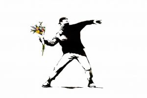 Banksy loses trademark case over the Flower Thrower