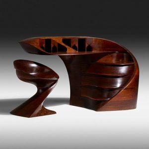 Michael Coffey, Early El Morro desk and chair