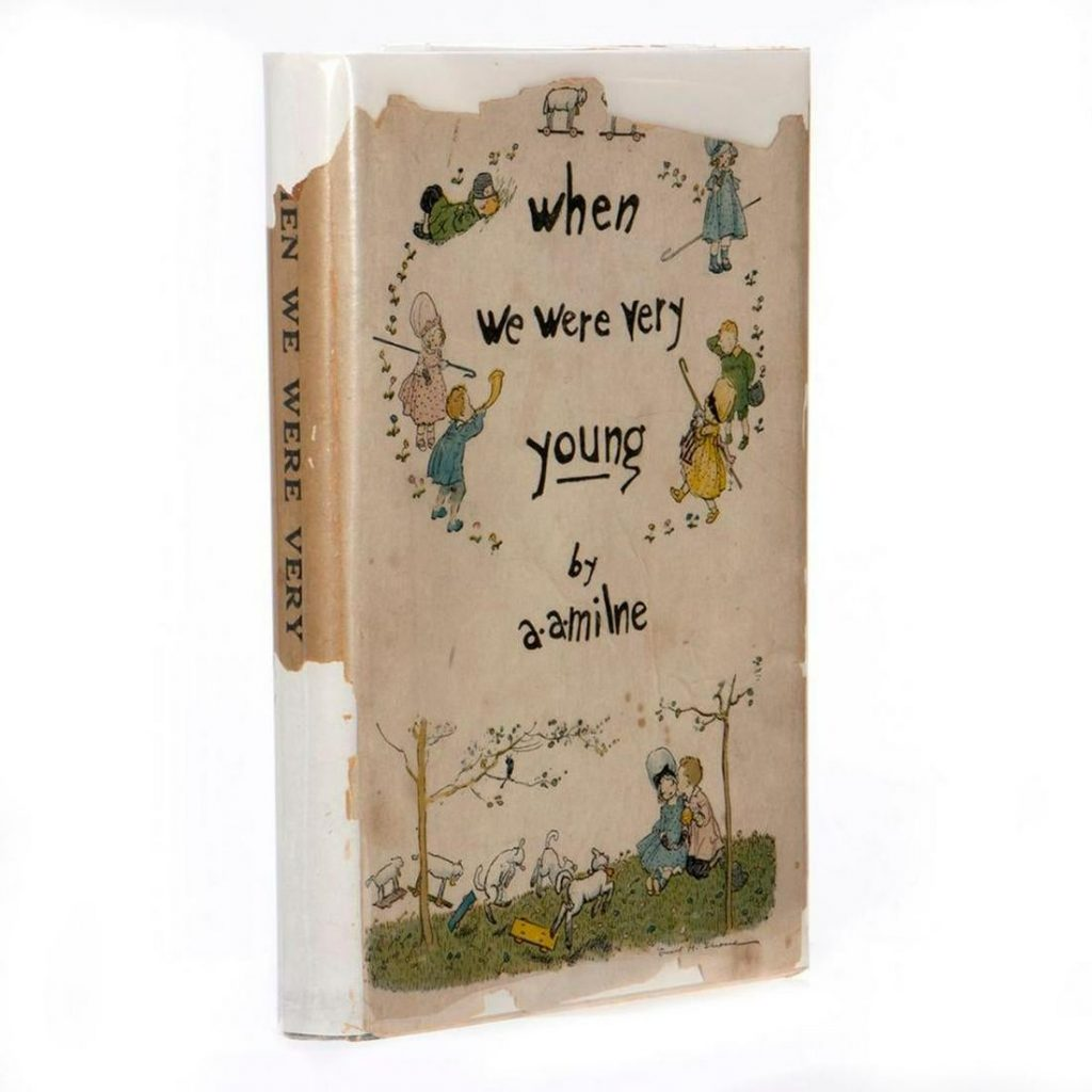 First Limited Edition of the First Winnie the Pooh Book