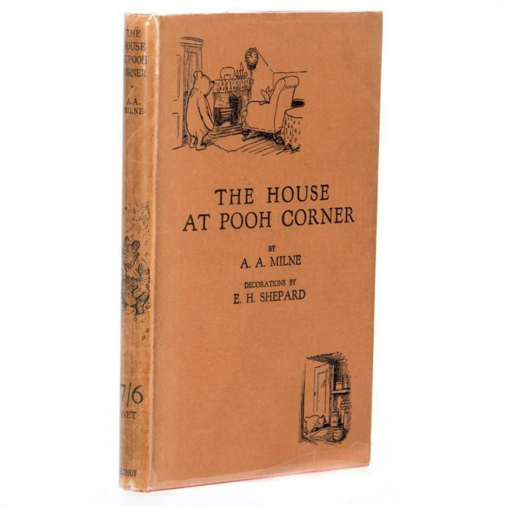 Fine First British Edition of Pooh Corner in Dust
