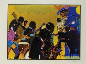 Artworks by Romare Bearden, Siebe Johannes Ten Cate lead Bruneau & Co.s August 27th auction