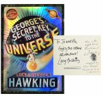 Stephen Hawking GEORGES KEY TO UNIVERSE, Inscribed