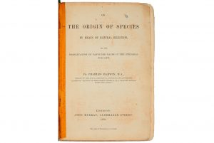 First edition of Charles Darwins On the Origin of Species sells at auction for £38,400