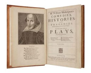 SHAKESPEARE, William (1564-1616). Mr. William Shakespear's Comedies, Histories, and Tragedies. Published according to the true Original Copies.
