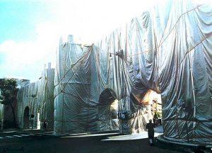 (Vladimirov Yavachev) Christo The Wall - Wrapped Roman Wall,1973-1974 Photolithograph