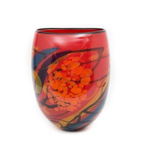 Ioan NemtoI 20th Century Glass Vase