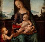 Tommaso di Credi (attivo a Firenze, fine secolo XV - inizi secolo XVI) - Madonna with Child
