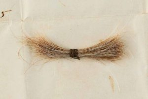 Abraham Lincoln lock of hair and historically important telegram sold for $81,250 at auction