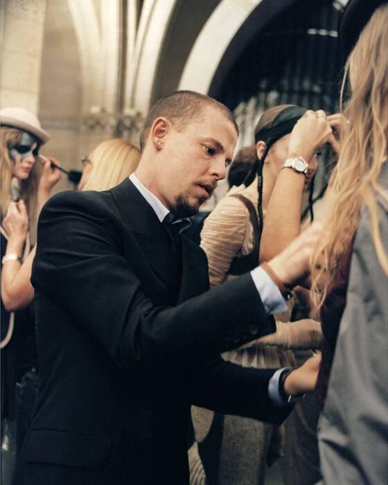 Lee Alexander McQueen. Image from the Alexander McQueen Maison.
