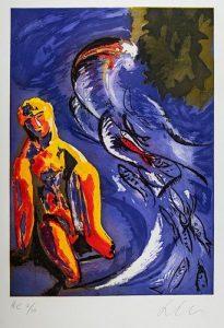 Sandro Chia (Firenze 1946) - Figure, 1997