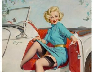 Gil Elvgren Pinups Make Auction Debut in October at Heritage Auctions