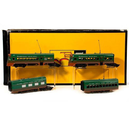 Sunset Models O Gauge North Shore Lines Electroliner 4 piece set
