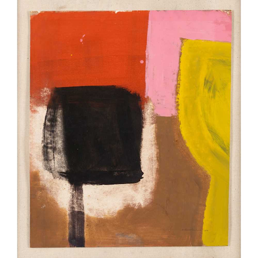 Untitled painting by Wilhelmina Barns-Graham, 1960. Image from Lyon & Turnbull.