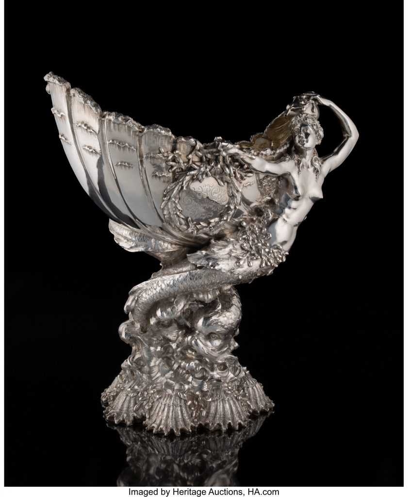 A Tiffany & Co. Silver Yachting Trophy