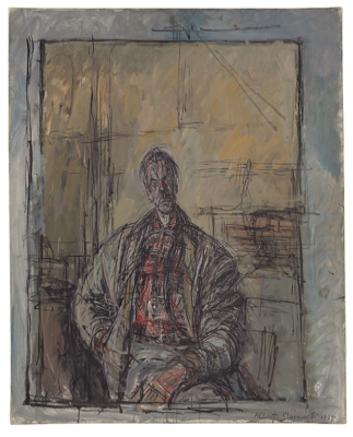 Portrait of Diego by Alberto Giacometti. Photo by the Giacometti Foundation.