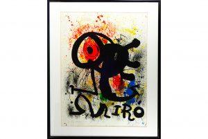 Large, long-held Miro artwork to lead Stephenson's Oct. 30 Fine & Decorative Arts