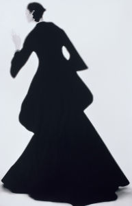 Charles James Dress, Carmen, New York, Harper's Bazaar by Lillian Bassman. Photo courtesy of Phillips.