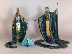 Erte Bronze Zeus and Hera