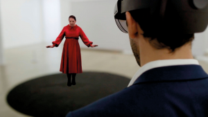 Worlds First Mixed Reality Artwork from Marina Abramović Comes Under the Christies Hammer