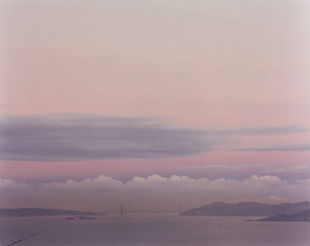 Richard Misrach, Golden Gate Bridge, 2.24.00, 6:50 AM, oversize chromogenic print, 2000. Estimate $18,000 to $22,000.