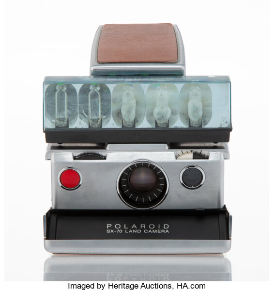 Andy Warhol (American, 1928-1987). Andy Warhol's Personally Owned and Used Polaroid SX-70 Land Camera