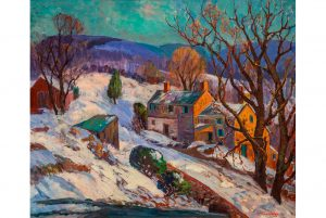 Exhibition highlights recent acquisition of works by Pennsylvania Impressionist Fern Coppedge