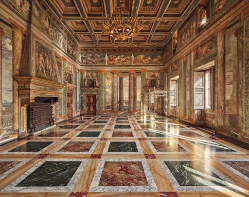 Ahmet Ertuğ, The Hall of Perspectives, Villa Farnesina. Rome, Italy, 2019. Image from Phillips.