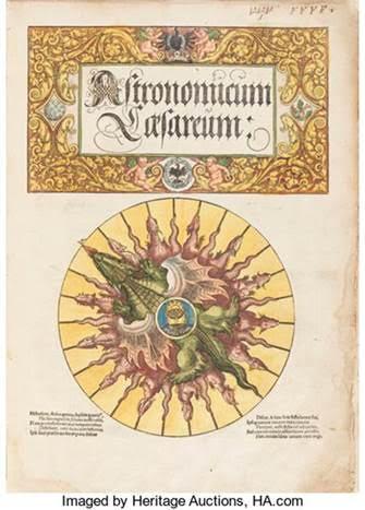 [Petrus Apianus]. Astronomicum Caesareum. [Ingolstadt: In aedibus nostris, May 1540]