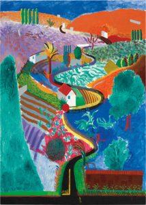David Hockney Nichols Canyon
