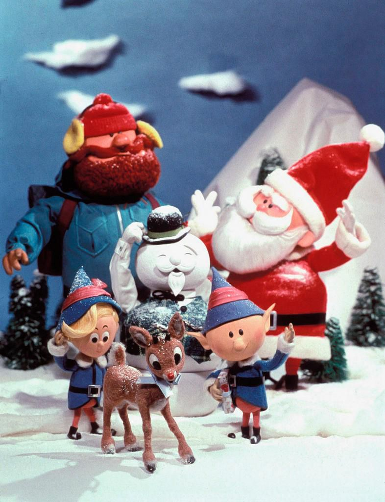 Puppets from Rudolph the Red-Nosed Reindeer. Image from NBCU Photo Bank/ NBCUniversal via Getty Images).