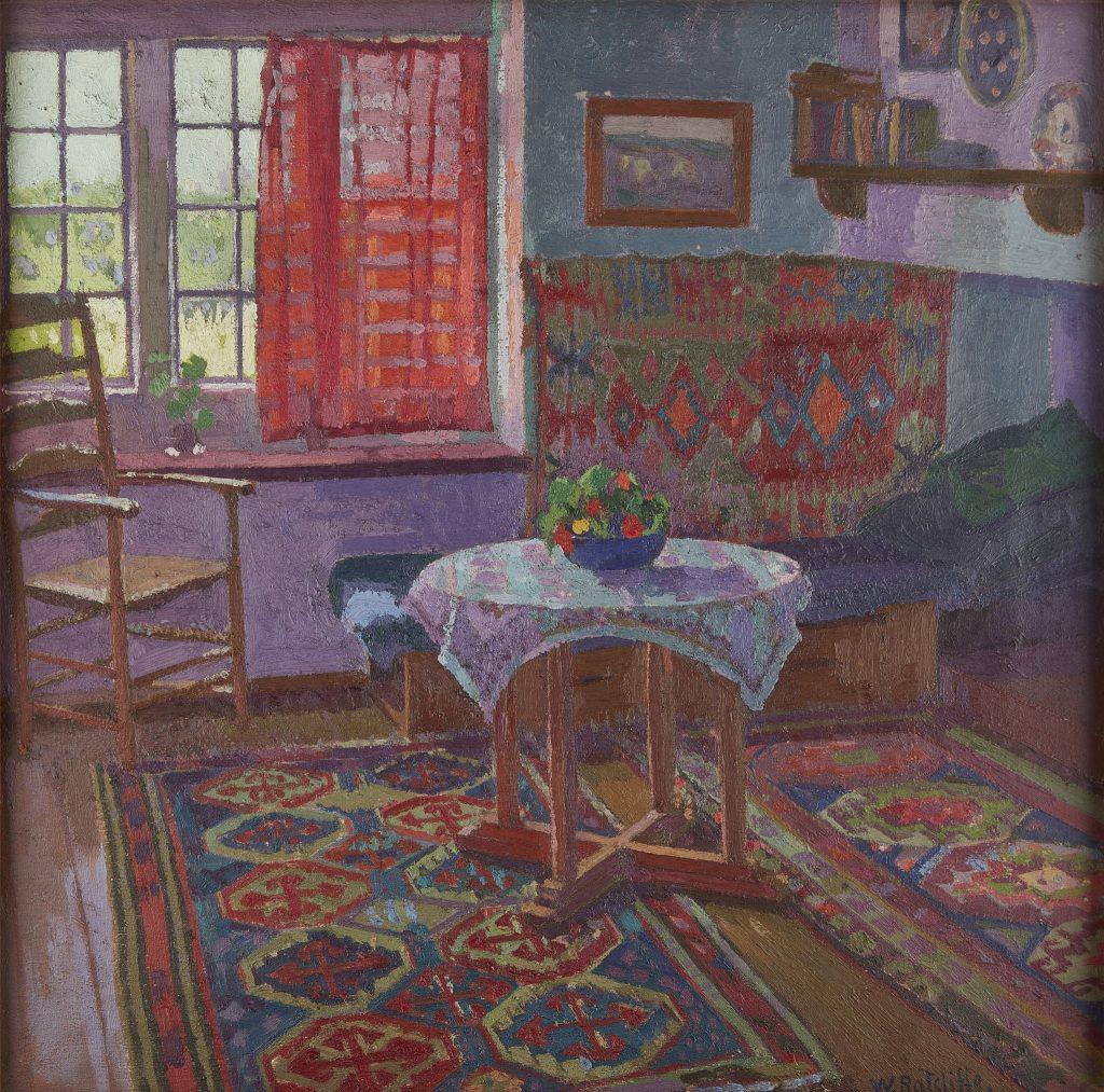 William Ratcliffe (British 1870-1955) The Red Curtain, circa 1916 -Ly…ull Modern Made.jpg