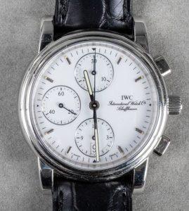 IWC Platinum Automatic Chronograph Wristwatch