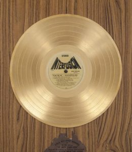 Olivia Newton-john If Not For You Australian Gold Record Award