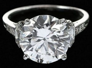 Tiffany & Co. 4.71ct. Diamond Ring