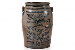 Cowans offers largest and most important Western Pennsylvania stoneware collection in decades