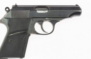 SEAN CONNERY JAMES BOND WALTHER PP PISTOL USED IN DR. NO WITH DVD