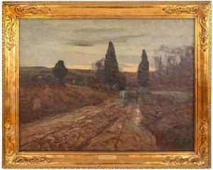 Edward Willis Redfield. At Twilight, oil