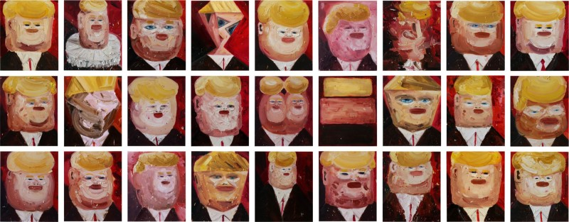 Amir Khojasteh, Big Brother, 2017. Image from Sotheby's.