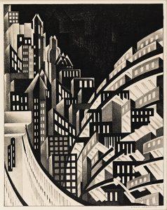 Louis Lozowick Leads Old Master Through Modern Prints at Swann
