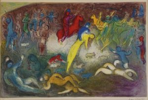 MARC CHAGALL (RUSSIAN-FRENCH, 1887-1985).