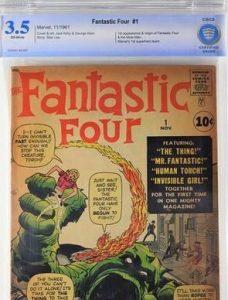Marvel Comics Fantastic Four #1 CBCS 3.5