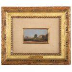 Thomas Cole. Italian Cottage, oil on panel