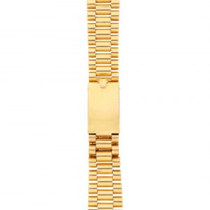A VERY RARE YELLOW GOLD ROLEX PRESIDENT BRACELET MADE BY GAY FRERES, CIRCA 1968