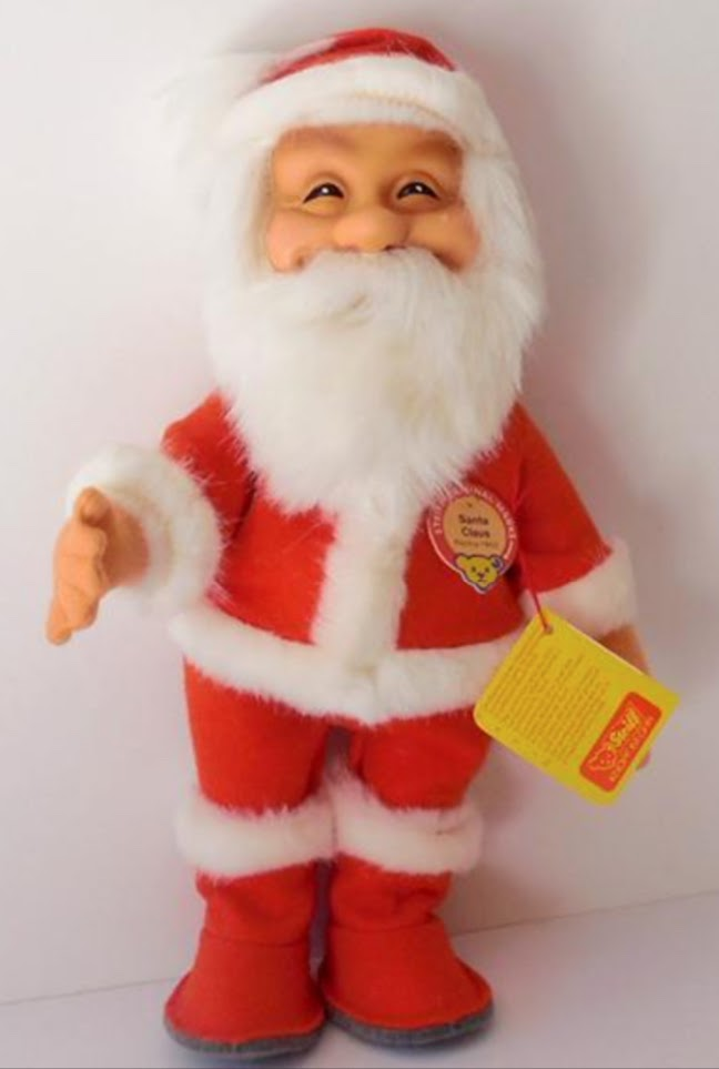 1980s-era Santa Doll replica. Photo from the author's collection.