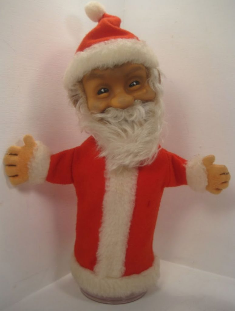 Santa hand puppet. Photo from the author's collection.