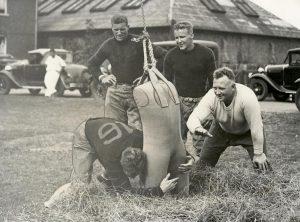Historical Photo Football Princeton Practice 1931