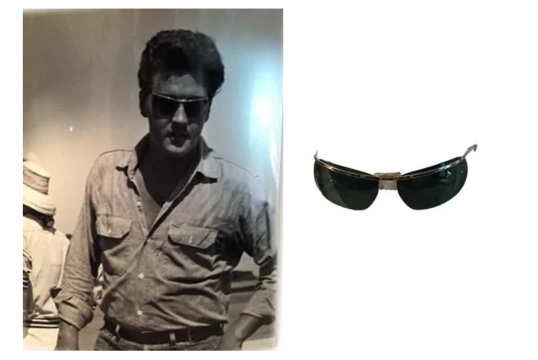 Follow That Dream (1961), Elvis Presley-worn sunglasses. Images from Premiere Props.