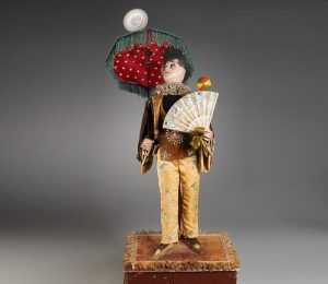 Gustave Vichy large musical clown automaton